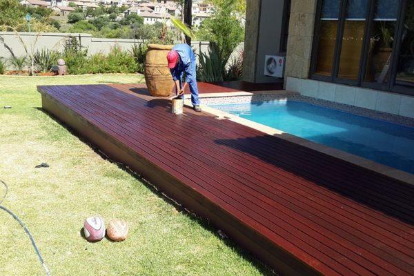 Deck Varnishing