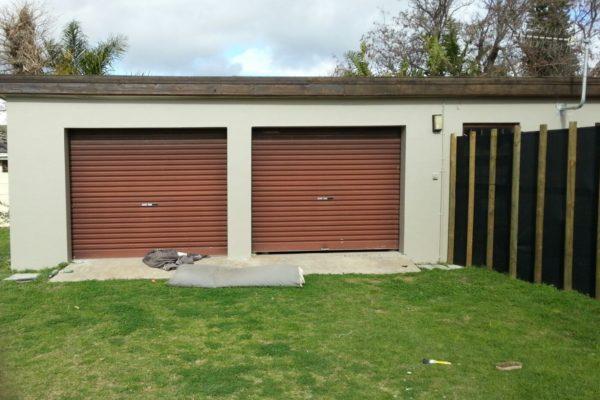 Garage Doors Charcoal Before