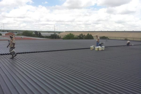 Industrial Large Roofs After