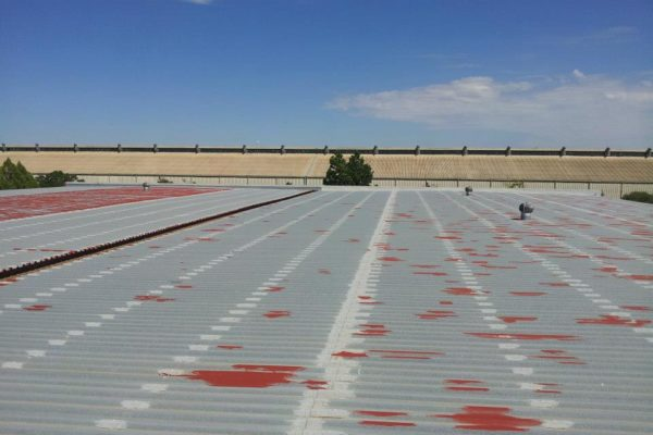Industrial Large Roofs Before