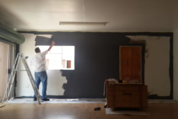 Interior Painting Grey Walls
