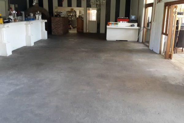 Restaurant Floor Before 1